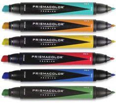 Prismacolor Markers - dual tip/double ended