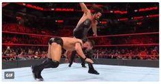 The Curb Stomp is back!  #WWE #SethRollins #RAW #CurbStomp