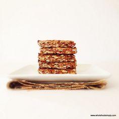 Lunchbox Recipe – Homemade Muesli Bars