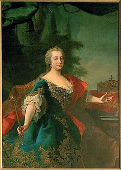 Maria Theresia Queen of Hungary probably by Martin van Meytens