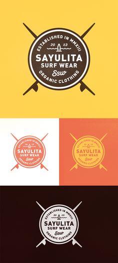 Logo design by Invective #POTD99 12.28.2013 #surfing #fashion