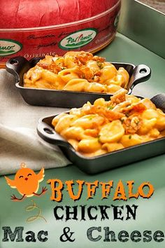 The Food Hussy!: Parrano® Buffalo Chicken Crispy Skin Mac Cheese Buffalo Mac Cheese - wow - is this like the most amazing combo you can think of? Macaroni Cheese Recipes, Pasta Recipes, Mac Cheese, Chicken Recipes, Dinner Recipes, Cooking Recipes, Chicken Meals, Chicken Pasta, Pasta Dishes