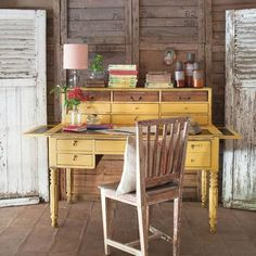 little-petunia-in-an-onion-patch: elorablue: Restored Old Furniture (via TumbleOn) (via TumbleOn) Loft Furniture, Furniture Logo, Painted Furniture, Furniture Outlet, Furniture Companies, Furniture Stores, Luxury Furniture, Furniture Ideas, Bureau Simple