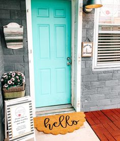 Oh hello Spring Ive been waiting for you. Hello Spring, Blessings, Waiting, Garage Doors, Lisa, Outdoor Decor, Home Decor, Decoration Home, Room Decor