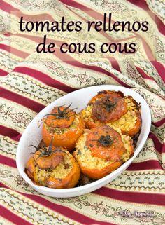 Tomates rellenos de Cous Cous » Blog Appétit!