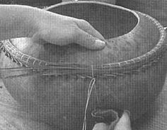 American Gourd Society web site: Pine Neeedle Rims