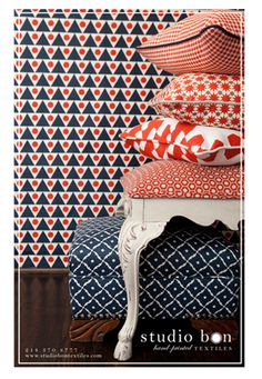 Check out this fabulous upholstery collection for your next DIY project | Studio Bon Textiles Dallas Texas