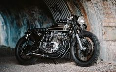 Honda CB750 Four Cafe Racer - Adrian - Photo by Alfonso Irene #motorcycles #caferacer #motos | caferacerpasion.com