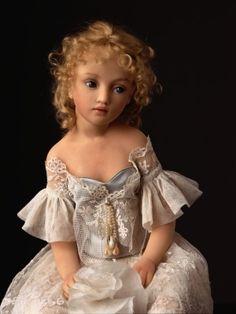 Heloïse - poupées de collection - Perle