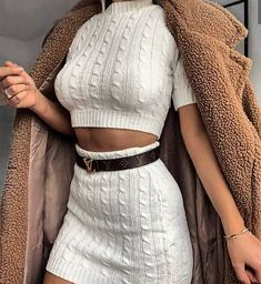 winter outfits hipster All-White Outfits for W - winteroutfits Winter Fashion Outfits, Look Fashion, Fall Outfits, Summer Outfits, Womens Fashion, Fashion Beauty, Fashion Trends, Teen Fashion, Fashion Coat