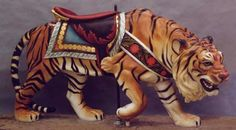 1909 Sneaky Tiger  Restored by Tim Racer  Painted by Pam Hessey