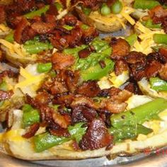 """Restaurant-Style Potato Skins 