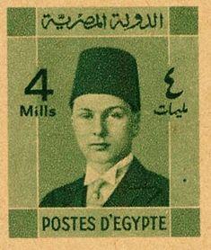 Egypt 1941 newspaper wrapper King Farouk