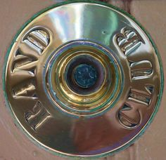 Doorbell to the Rand Club, downtown Joburg