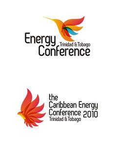 International energy and alternative energy conference logo design
