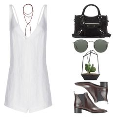 """#453"" by missad3 ❤ liked on Polyvore featuring Effy Jewelry, Acne Studios, Balenciaga and Ray-Ban"