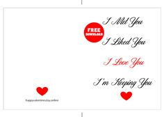 FREE Printable Anniversary Cards images Templates 💖 Cute Anniversary Gifts, Anniversary Cards For Boyfriend, Funny Anniversary Cards, Free Printable Anniversary Cards, Free Printable Cards, Free Printables, Funny Valentine, Happy Valentines Day, Fiance Birthday Card