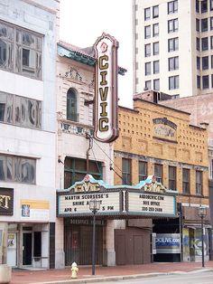 The Akron Civic Theatre in Akron, Ohio.