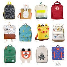 @ministyleblog featured her fave back to school backpacks including our new lion backpack