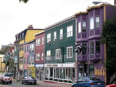 As a tourist, I was delighted to see very colourful houses in Mediterranean islands or coastal towns like Sidi Bou Said (Tunisian town), San. Newfoundland Canada, Newfoundland And Labrador, Saint John, Ottawa, Canada Information, Places To See, Places Ive Been, Mists Of Avalon, Atlantic Canada