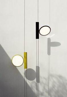 New collections IC Lights and OK by Flos | #design by Michael Anastassiades and Konstantin Grcic