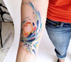 Awesome watercolor tattoo ideas ~ wikihowo