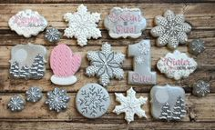Winter ONEderland Source by Source by … First Birthday Winter, Winter Birthday Parties, 1st Birthday Party For Girls, Kids Birthday Themes, Girl Birthday Decorations, Baby Birthday, Winter Onederland Party Girl 1st Birthdays, Winter Wonderland Birthday, Birthday Cookies