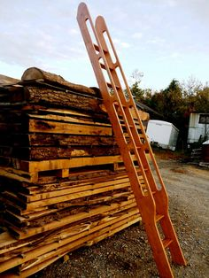 Ship's Ladder for Loft/Library/Attic  by HistoricFlooring on Etsy