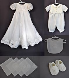 christening gowns from wedding dresses | ... Wedding Gown Lace Featured in Lovely Heirloom Christening Gown and