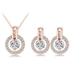 Cheap necklace earring set, Buy Quality set bracelet directly from China set necklace Suppliers: 2016 New Exquisite Engagement Rings Platinum Plated CZ Diamond Paved Ring Party Jewelry for Women Alibaba Aliexpress CRI