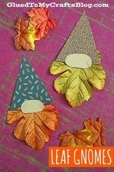 Fall Paper Crafts, Halloween Crafts For Kids, Leaf Crafts, Baby Crafts, Kids Crafts, Autumn Activities, Craft Activities For Kids, Easy Arts And Crafts, Diy Craft Projects
