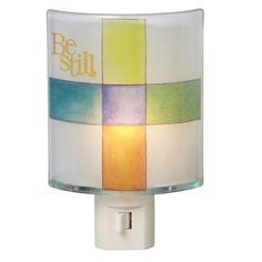 Be Still Cross Night Light