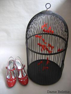 cage à poissons (pièce unique) damebelette.blogspot.com