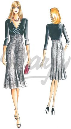 Our Patterns :: Marfy Collection 2010/2011 :: Autumn - Winter :: Sewing pattern 2303 -