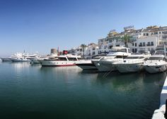 View of harbour Puerto Banus, loved sharing our ice creams with the fish!!!!!