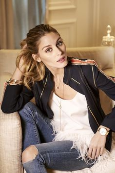 Olivia Palermo Never Leaves the House Without Doing This via @WhoWhatWear