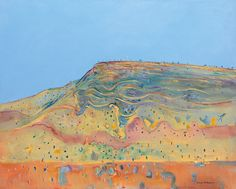 The Benalla Art Gallery is currently hosting one of Australia's most significant series of landscape paintings created by Fred Williams. Abstract Landscape, Landscape Paintings, Abstract Art, Contemporary Landscape, Watercolor Landscape, Landscapes, Australian Painting, Australian Artists, Fred Williams