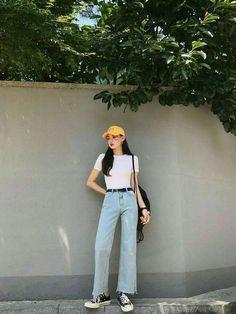 Gorgeous Clothes on korean fashion outfits 904 Source by diana_antonova outfits korean Korean Girl Fashion, Korean Fashion Trends, Korean Street Fashion, Korea Fashion, Kpop Fashion, Asian Fashion, Ulzzang Fashion Summer, Fashion Ideas, Tokyo Fashion