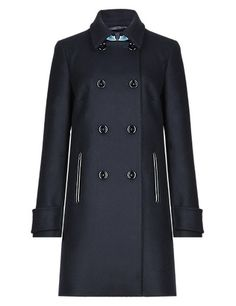 Best of British Pure Wool Double Breasted Peacoat | M&S