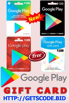 How To Get Free Google Play Gift Cards - Google Play Gift Card Code