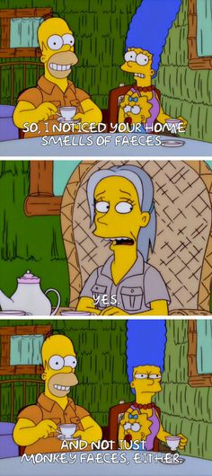 """From """"Simpson Safari"""": 