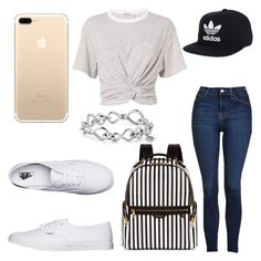"""""""Untitled #29"""" by kaufmanjayleno ❤ liked on Polyvore featuring T By Alexander Wang, Topshop, Vans, adidas, David Yurman and Henri Bendel"""