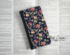 Floral Rose iPhone 5c Wallet Case Leather iPhone 5 by ChiffonCase, $22.00