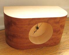 Retro Modern Wood Clock