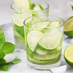 Basil cocktails are having a moment. Cocktail Recipes, Cocktails, Basil Cocktail, Yummy Drinks, Yummy Food, Mojito Drink, My Favorite Food, Favorite Recipes, Bacardi