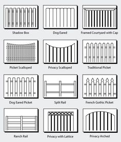 Fence types.  Ranch rail for me?