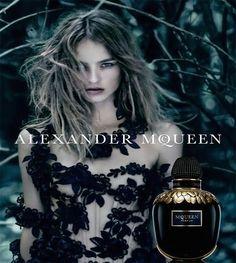 Maartje Verhoef - Alexander McQueen McQueen Parfum Fragrance 2016 Ad Campaign
