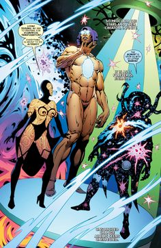 The Living Tribunal, Infinity and Eternity