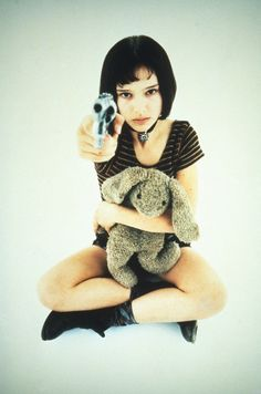 Mathilda (Natalie Portman) in The Professional