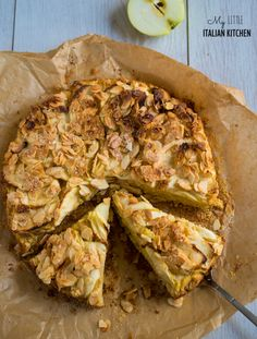 Apple almond polenta cake gluten free